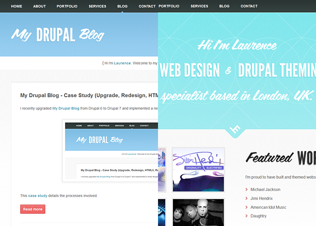 My Drupal Blog and Lhmdesign